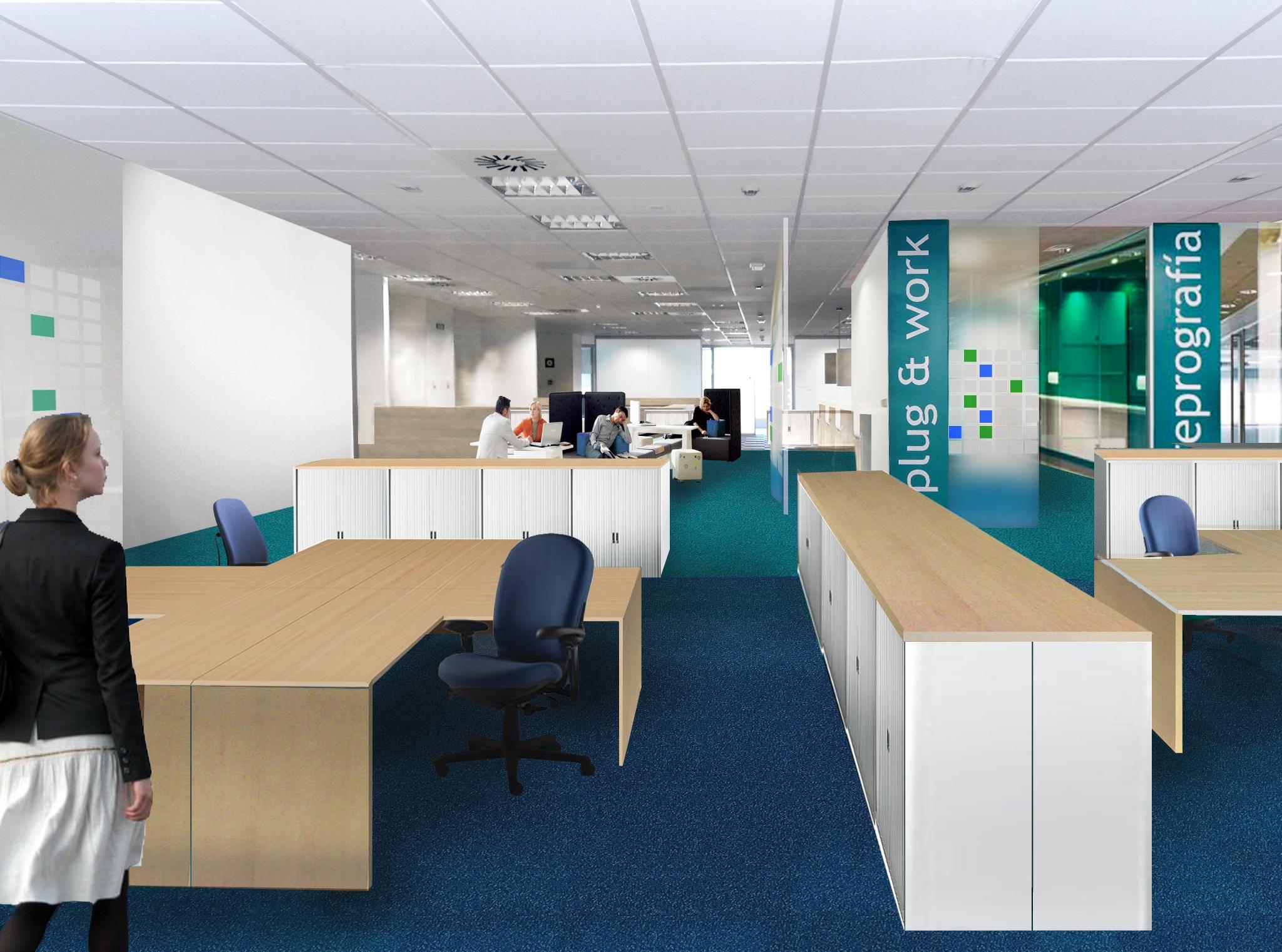 Acondicionamiento de espacios para oficinas y Headquarters